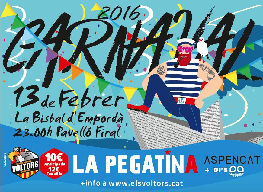 Festa de Carnaval la Bisbal 2016