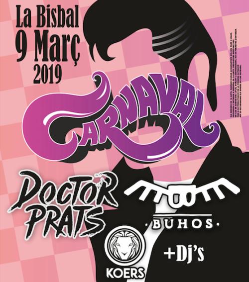 Cartelll Festa Carnaval 2019