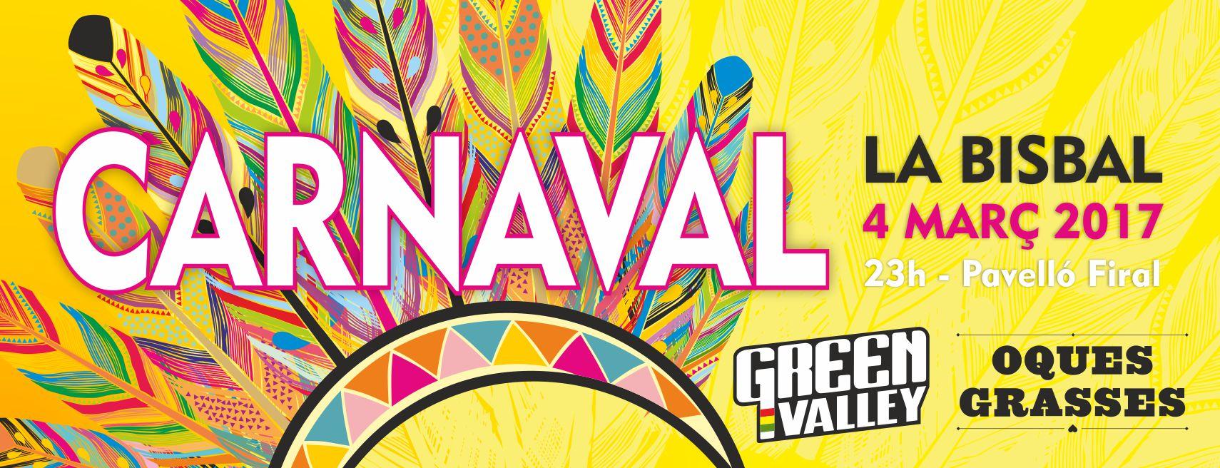 Cartell Festa Carnaval la Bisbal 2017